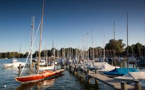 Segelboote-Steg-Diessen-Amm